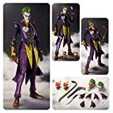 The Joker: Injustice - Gods Among Us x Tamashii Nations S.H. Figuarts Action Figure Series + 1 FREE Official DC Trading Card Bundle