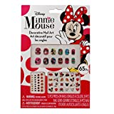 press on decals - Girls Disney Licensed Minnie Mouse Press On Nails Colorful and Vibrant Gems and Stickers 65pc Set