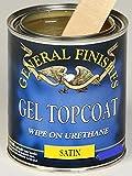 General Finishes SQ Gel Topcoat, 1 quart, Satin