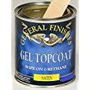 Gf Gel Topcoat Satin Pint- General Finishes,Topcoat Satin,Pint