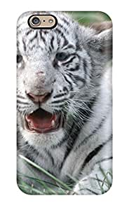 Vanessa Arvid's Shop New Style 3752605K95003934 New White Bengal Tiger Protective Iphone 6 Classic Hardshell Case