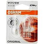 Osram 7515-02B Original Equipment W21/5W bulbs in a twin blister pack – Transparent