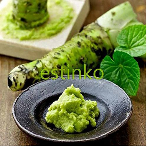 100 SEEDS Wasabi Seeds Japanese Horseradish Seeds Vegetable Wasabia Japonica Home Garden Bonsai Plants - The Mall Robinson