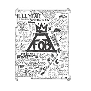 DIY Fall out boy 3D Case, DIY 3D Cell Phone Case for ipad2,3,4 with Fall out boy