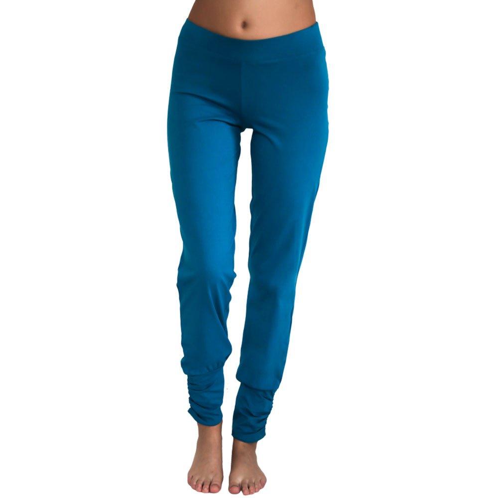 7d48bfd8d58e Leela Cotton Damen Freizeit, Yoga Hose Bio-Baumwolle (L, Petrol)  Amazon.de   Bekleidung