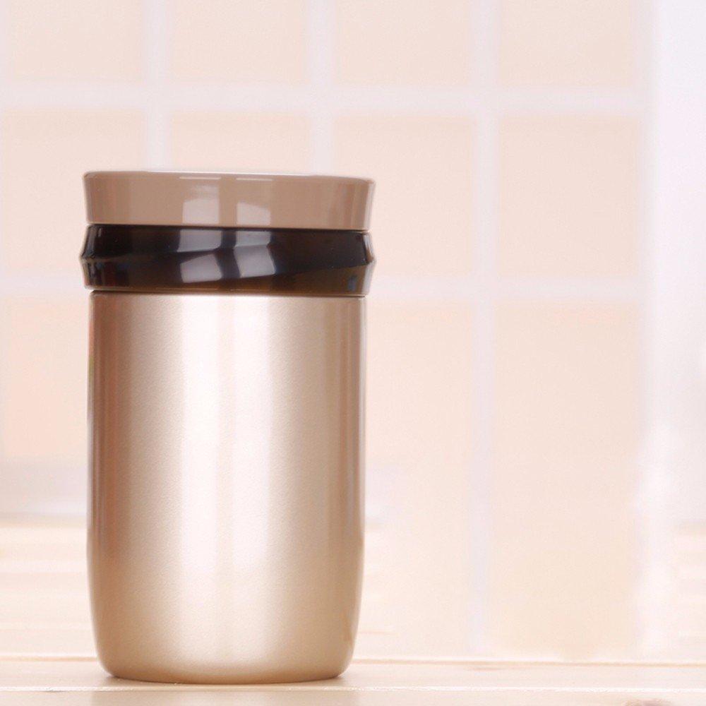 MDRW-Verstopfte Becher, Edelstahl, schwelende Wasserkocher, Suppe Cup, Studierende, die ein Lunchpaket, Schwelbrand Dosen Mittagessen Kühler,B500