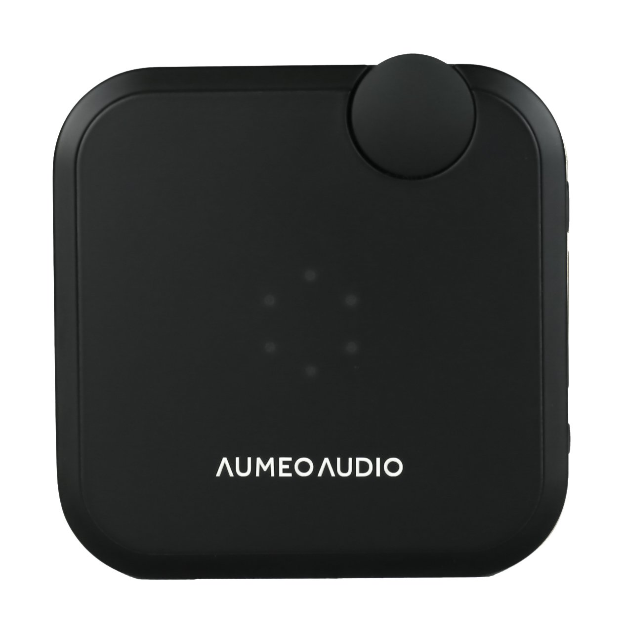 Aumeo Audio Tailored Audio Device and Headphone Personalizer, Bluetooth / 3.5mm Audio Dongle for iPhone, Android and More - Black
