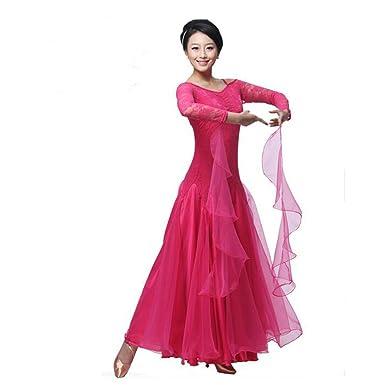 1863526d11f Amazon.com  BellyQueen Women Modern Waltz Tango Dancing Clothes Ballroom  Dance Skirts  Clothing