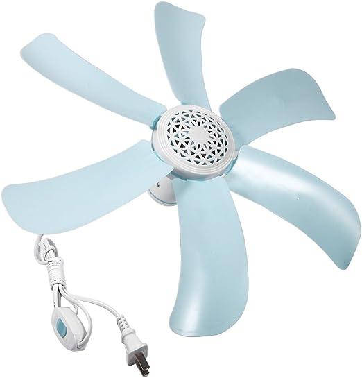 Tnfeeon 8W Ventilador de Techo Ventilador Antimosquitos Mini ...