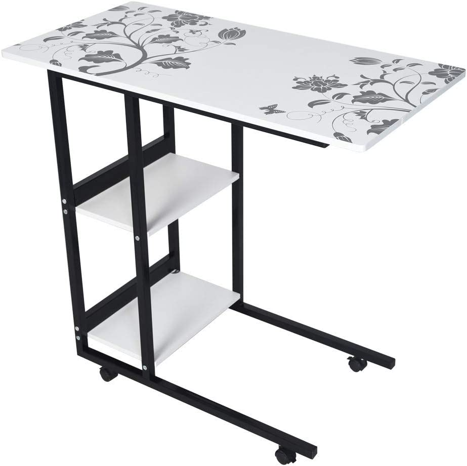 Detachable Folding Table Simple Folding Lazy Bedside Laptop Table Simple Desktop Home Mobile Small Table Bedside Computer Table