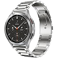 Dado Stainless Steel Replacement Band Compatible with Samsung Galaxy Watch 4 classic 46mm 42mm/ Galaxy Watch 4 44mm 40mm…
