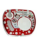 Red Polka Dot Lappertizer Tray - Set of Four by Lappertizer