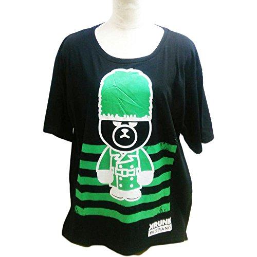 致死つまらない動KRUNK×BIGBANG Tシャツ T.O.P