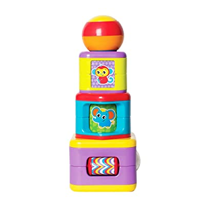 Playgro 6385464 Activity Stacking Tower for Baby, Infant, Toddler: Baby