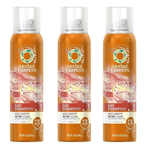 Herbal Essences Dry Shampoo, Body Envy, Instant Clean & Ligh