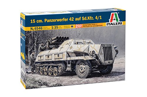ITA6546 1:35 Italeri 15cm Panzerwerfer 42 auf Sd.Kfz.4/1 for sale  Delivered anywhere in USA