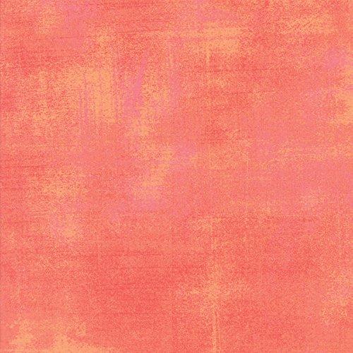 Moda Basic Grey Grunge Cotton Quilt Fabric Papaya Punch Style 30150/323