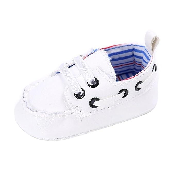 Zapatos De Bebé, Amlaiworld Recién nacido Niño niña de cuero zapatos ...