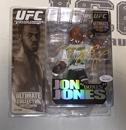 Jon Jones Signed UFC LE Round 5 Action Figure w/ Belt COA 200 Autograph - PSA/DNA Certified - Autographed UFC Miscellaneous Products