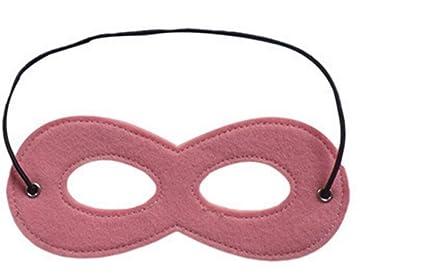 EXOH - Máscara de fieltro especial para niños de Halloween (rosa)