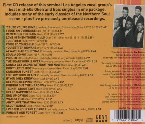The Vibrating Vibrations: The Okeh And Epic Singles 1963-1968