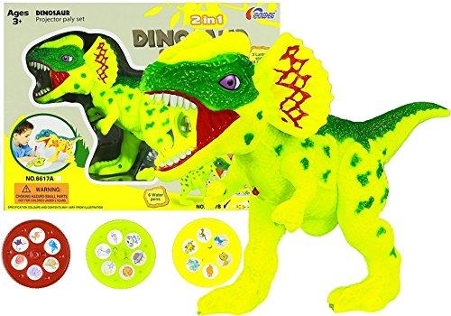 Caracteres lámpara de Dino dinosaurios: Amazon.es: Hogar