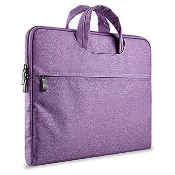 Crisant Luxury Sleeve Funda para ordenador portátil 13-13.3 inch,Mezclilla Waterproof Computer Bag