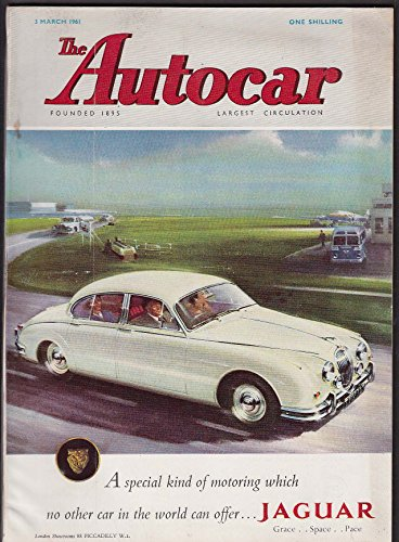 AUTOCAR Warwick GT road test Mercedes 220 SE Coupe ++ 3/3 1961