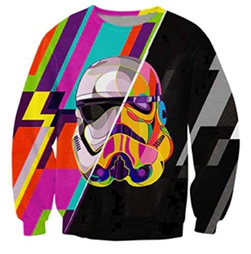 #GeekLife Dragon Ball Z 3D Print Pullover Unisex Sweatshirt (All DBZ, Tag 3X/US XL)