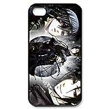 DIYCase The Black Butler Kuroshitsuji Slim Back Proctive Case for iphone 4 4S 4G - 138801
