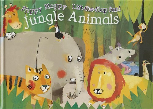 Flippy Floppy Jungle Animals by Anton Poitier (2013-06-01)