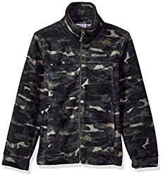 Columbia Little Boys' Steens Mt Ii Fleece, Cypress Camo, S
