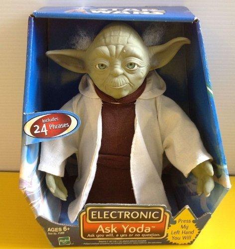 Electronic Ask Yoda Star Wars Toy