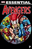 Front cover for the book Essential Avengers, Volume 7 by Steve Englehart