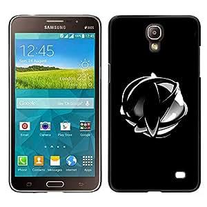LECELL--Funda protectora / Cubierta / Piel For Samsung Galaxy Mega 2 -- Resumen cromo Esfera --