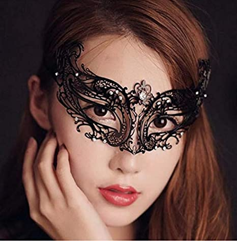 Maschere Carnevale Adulti Maschera di Moda Glamour di Partito Maschera di  Moda Glamour di Halloween Maschera 2ac72f4711e4