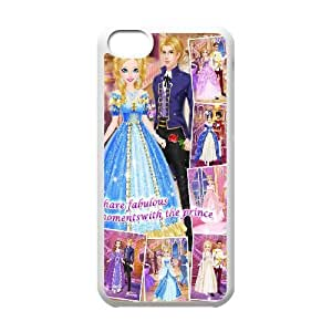iPhone 5C Cover Cell phone Case Flcun Cinderella Plastic Durable Cases