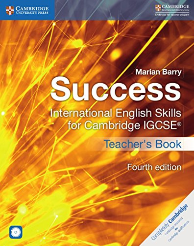 Success International English Skills for Cambridge IGCSE® Teacher's Book with Audio CDs (2) (Cambridge International IGCSE)