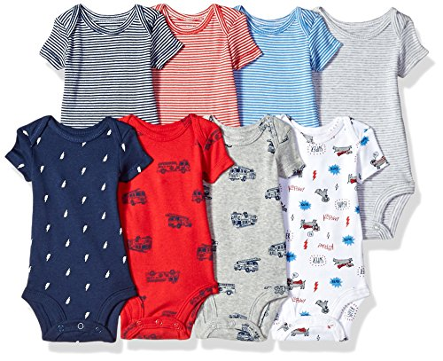 Carters Baby Boys Short Sleeve Bodysuits product image