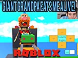 Uncle Grandpa Roller Coaster and Giant Grandpa Eats Me Alive!