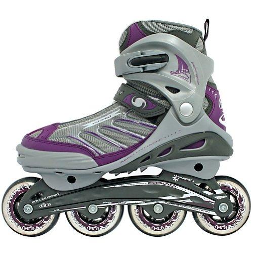 07 Womens In Line Skates - Roller Derby Hybrid G800 Women's Inline Skates (7)