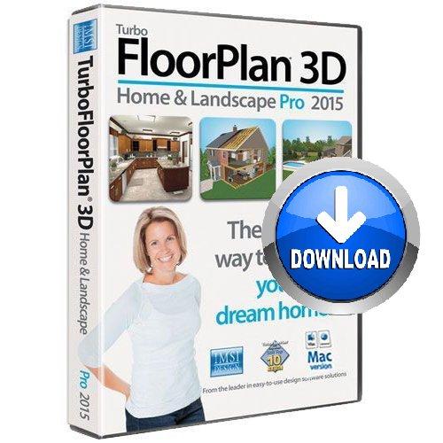 Turbo Floor Plan 3D Home & Landscape Pro 2015 Mac