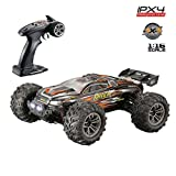 Gbell 36km/h High Speed RC Race Cars,36+MPH 1/16 2.4Ghz Remote Controlled Vehicle,4WD IPX4 Waterproof Truck Birthday Gifts for Boys 6-15 Years Old (Yellow)