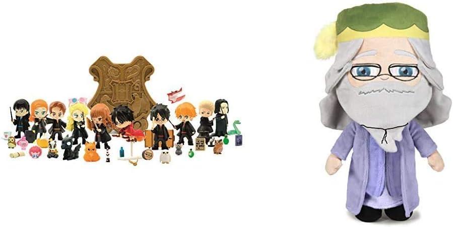 20 cm Multicolor Incluye Personaje y 7 Pistas Reveladoras Famosa Harry Potter 10 Modelos para Coleccionar C/ápsulas m/ágicas Softies Peluche Dumbledore Ministerio de la Magia Env/ío Aleatorio