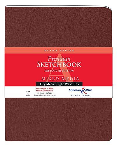 Stillman & Birn Alpha Series Softcover Sketchbook, 8