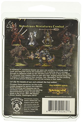 Privateer Press - Hordes - Circle Orboros: Lord of The Feast Model Kit 4