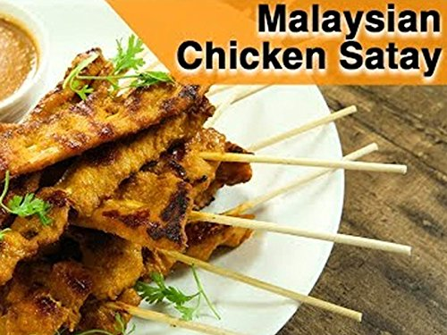 (Malaysian Chicken Satay Recipe)