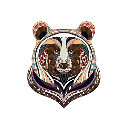 ARTEM Thermal Transfer Iron On Colorful Bear 3.5x3.0 inch Patches For Clothes A-level Washable DIY Decoration T-shirt Dresses -