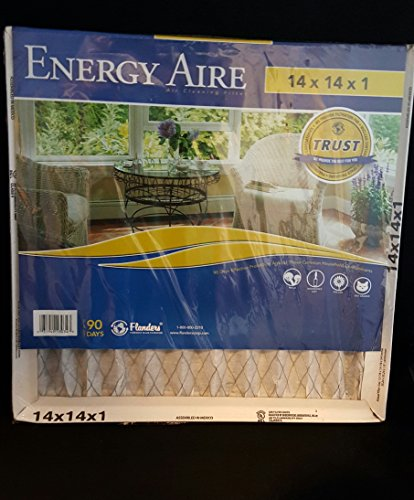 Energy Aire 14x14x1 Air Cleaning Filter (Flanders Energy Aire Filters compare prices)