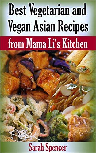 Vegetarian Vegan Asian Recipes Kitchen ebook product image